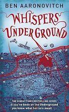 Whispers Under Ground by Ben Aaronovitch (Hardback, 2012)