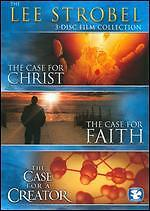 The Lee Strobel Film Collection (DVD, 2009, 3-Disc Set) NEW Sealed THE CASE FOR