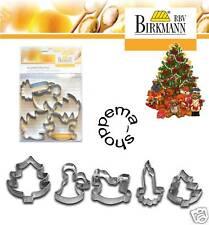 Emporte-pièce gâteaux Noël (III) fer blanc Birkmann