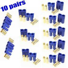Us 10 Pairs Ec5 Device Connector Plug for Rc Lipo Battery Esc Motor New