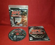 UFC Undisputed 2009 (Sony PlayStation 3 PS3, 2009)