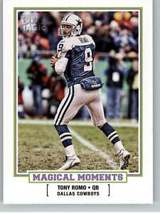 2010 Topps Magic Magical Moments #MM5 Tony Romo - Cowboys