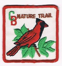 Trail Patch C B Nature Trail RED Brd WHT Bkg 300865