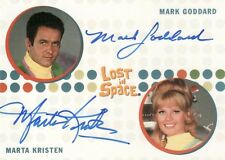 The Complete Lost in Space Rare Mark Goddard & Marta Kristen Dual Auto Card