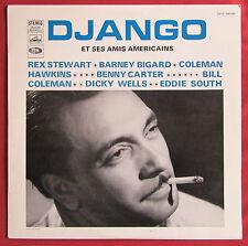 DJANGO REINHARDT  LP  ORIG  FR  DJANGO ET SES AMIS AMERICAINS