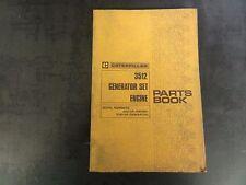 Caterpillar 3512 Generator Set Engine Parts Book