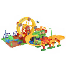 54 Pcs Railway Train Track Set Building Block with Light & Music for Kids Gift