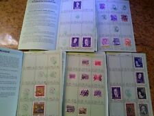 Hundreds of Austrian Stamps in Retired Approval Books