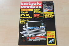 77638) E. Auwärter Clubstar LN 2 TEST - Scania R 92 MA - Lastauto Omnibus 05/198