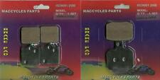 Benelli Disc Brake Pads TnT899 Century Racer 2011-2014 Front & Rear (2 sets)