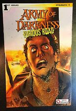 Army of Darkness: Furious Road #1 (2016, Dynamite) Gamestop Variant