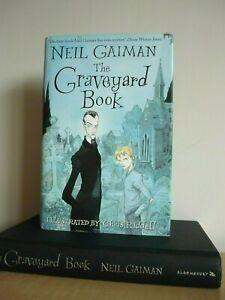 NEIL GAIMAN THE GRAVEYARD BOOK UK HB 1/1 ill chris riddell wrote coraline