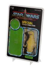 """GW Acrylic Standard SW ESB ROTJ  9"""" x 6"""" Cardback Display Case & Stand (2 PACK)"""