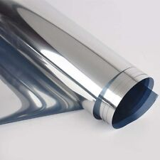 2m Thin Solar Reflective Window Film Mirror Silver One Way Privacy Stickers