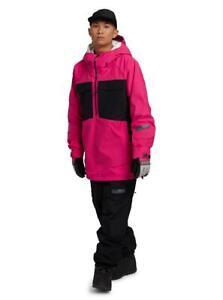 Burton GORE-TEX Banshey Anorak Mens Jacket Punchy Pink/True Black