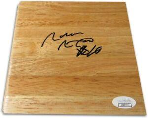 Norm Nixon Signed Autographed 6X6 Floor Piece Los Angeles Lakers JSA CC24396