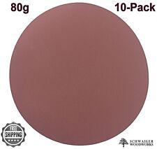 "Klingspor 20"" inch diameter Sanding Disc, 80 grit, 10 pk, Peel & Stick, Germany"