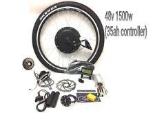 "48V 1500w Kit di conversione bici elettrica 26"" ruota posteriore, display LCD KENDA PNEUMATICO"