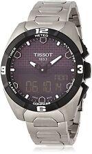 *BRAND NEW* Tissot Men's Black Dial Titanium Bracelet Watch T091.420.44.051.00