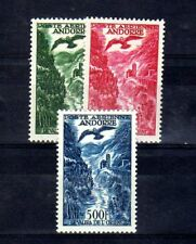 ANDORRE - ANDORRA Yvert Poste Aérienne n° 2/4 neuf avec charnière