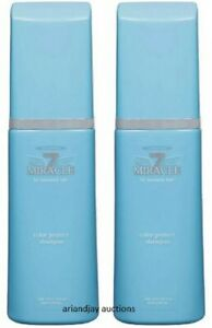 Lot of 2 New Miracle 7 for heavenly hair Color Protect Shampoo 10 fl oz each