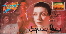 Official Blakes 7 Servalan Stamp Cover Signed in person by JACQUELINE PEARCE
