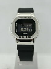 CASIO G-SHOCK (GM5600-1) DIGITAL STEEL/RESIN STRAP WATCH (SILVER) NEW in BOX!!