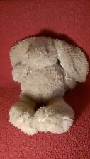 "19"" Pier 1 One TAN FLOPPY FUZZY BUNNY RABBIT plush stuffed aniimal toy"