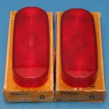 NOS Pair GM Guide Tail Light Lenses 1961-1962 Pontiac Tempest Station Wagon
