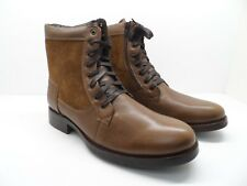 Vito Rossi Men's Treviso-2 Leather Side Zip Casual Boot Brown Size 13M