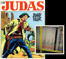 DAIM Press & Sergio Bonelli (1979 -1980) - Judas # 1/16 - Serie Completa - VF+