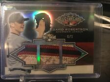 2012 Topps Triple Threads David Robertson All Star Patch Jersey 8/9