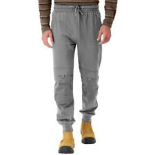 DuraDrive Grey Jogger Work Pants with Knee Pad Pockets