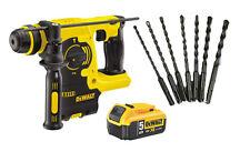 Dewalt DCH253N 18V XR SDS+ Hammer DCH253 + 7 SDS+ drill + 1 DCB184 5.0ah Battery