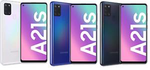 """Samsung Galaxy A21S SM A217F DSN 32GB 3GB 6,5"""" 16,6cm 48MP Kamera"""