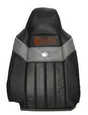 2007 Ford F250 Harley Davidson Driver Side Lean Back Leather Seat Cover BLACK