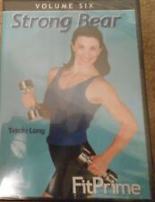Fitprime Strong Bear Workout Tracie Long Video DVD Exercise Fitness Strength New