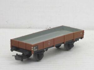 kurzer Niederbordwagen / Waggon, braun, Märklin, 1:87 / HO, no OVP, altes Modell
