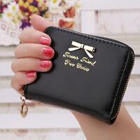Women's Ladies Girls Designer Small Coin Card Key Pouch Wallet Purse Handbag Bag