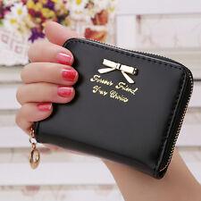 Cartoon Cute Clutch Photo Card Holder Coin Pouch Bag Womens Small Purses Wallet