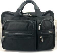 Tumi Alpha Expandable Organizer Laptop Briefcase Ballistic Nylon 26141 Reg $445