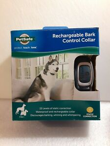 New Rechargeable Dog Control Collar Stop Barking Whining Wimper 8 lb+ PetSafe