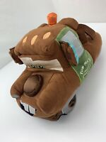 """Mater Tow Truck Disney Store Exclusive Cars Pixar 13"""" Plush Stuffed Toy"""