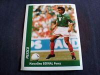 Figurina Ds Sticker France 98 n°233 MARCELINO BERNAL PEREZ MEXICO World Cup