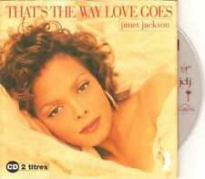 Janet Jackson - That's The Way Love Goes - CDS - 1993 - Pop 2TR Cardsleeve