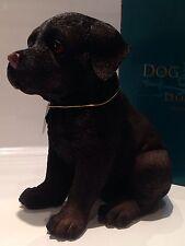 Chocolate Labrador Retriever Dog Puppy Love Ornament Gift Figurine