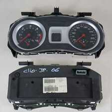 Quadro strumenti 8200582705 G Renault Clio Mk3 2005-2012 usato (38713 J-11-C-8)