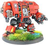 Warhammer 40K Space Marines Blood Angels Dreadnought