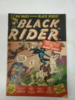 Current Detective Stories Black Rider No 12 January 1951 Golden Age (dd) (bb14)