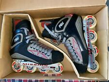 New ListingMission Rm Detonator Hi-Lo Roller Hockey Skates Size 13